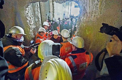 Ulm feiert seinen neuen Tunnel