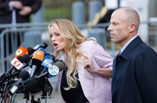 Stormy Daniels reicht weitere Klage gegen Trump ein
