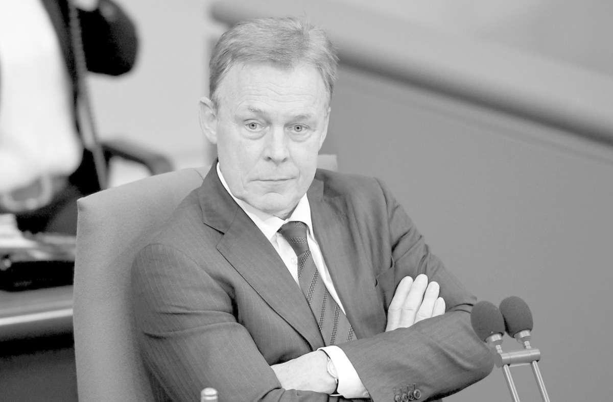 Thomas Oppermann ist völlig unerwartet im Alter von 66 Jahren gestorben. Foto: dpa/Britta Pedersen