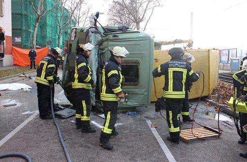 Lkw-Fahrer bei Unfall getötet