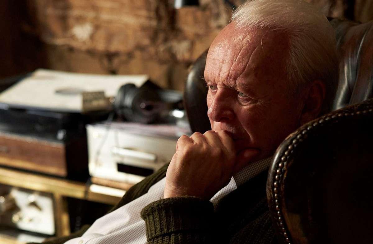 """Anthony Hopkins in  """"The Father"""" – diese Hauptrolle brachte dem 83-Jährigen seinen zweiten Oscar ein. Foto: Sean Gleason/Sony Pictures Classics/AP/dpa"""
