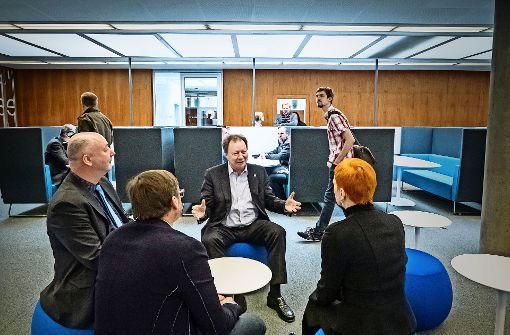 """""""Lernwelten"""" in der Unibibliothek eröffnet"""