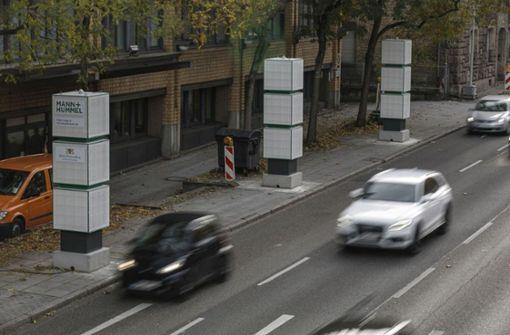 Umwelthilfe: Luftfiltersäulen zeugen von Verzweiflung