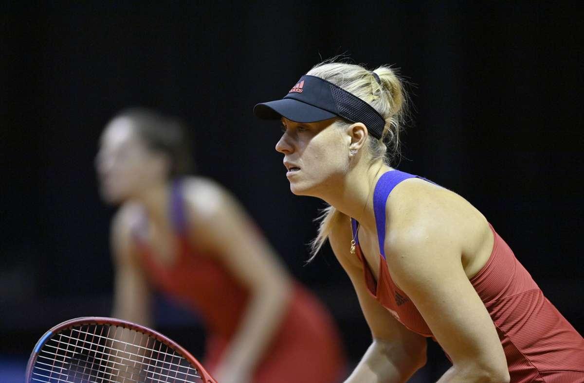 Angelique Kerber ist beim WTA-Turnier in Madrid ausgeschieden. (Archivbild) Foto: Pressefoto Baumann/Pressefoto Baumann