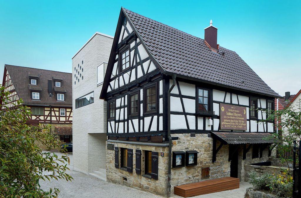 Eines der ausgezeichneten Gebäude: Das Tobias-Mayer-Museum in Marbach am Neckar. Foto: Oliver Rieger