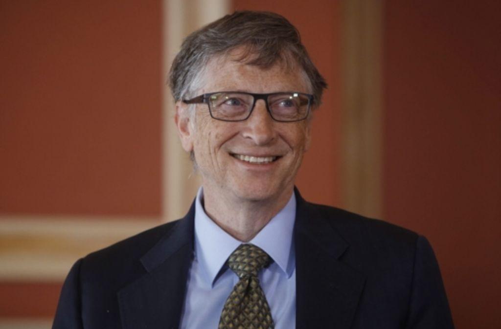 Der Microsoft-Gründer Bill Gates investiert über seine Stiftung 46 Millionen Euro in den Tübinger Biotech-Konzern Curevac. Foto: EPA