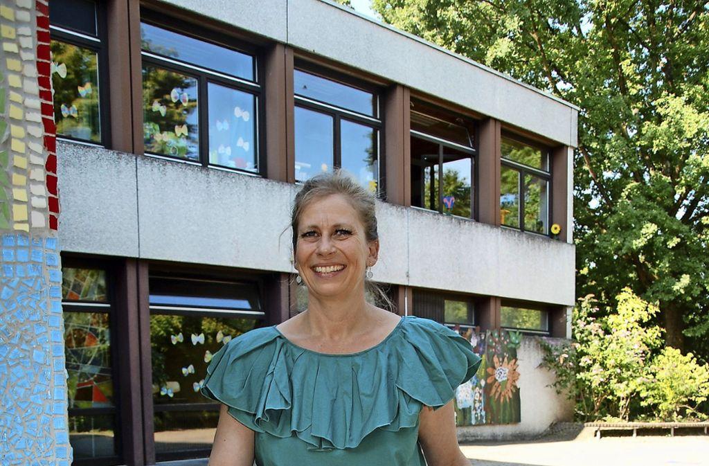 Rektorin Eve-Marie Hörtig wechselt von Uhlbach nach Esslingen. Foto: