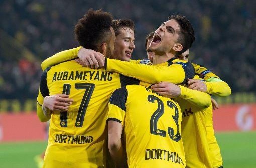 Dortmund im Champions League-Viertelfinale