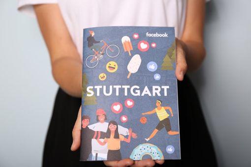 42 Seiten stark ist der Facebook Community City Guide für Stuttgart, ...