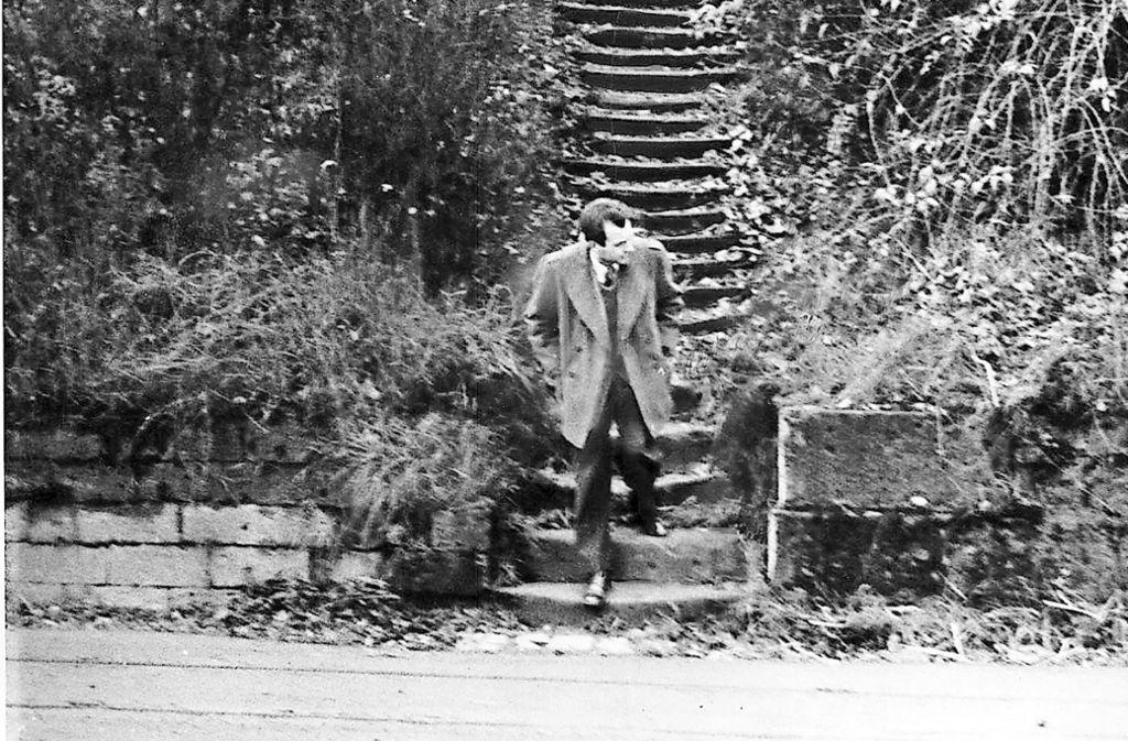 Stäffele gehören zum Stuttgarter Stadtbild: ein Foto aus den 1950er Jahren. Foto: Zenz Engel