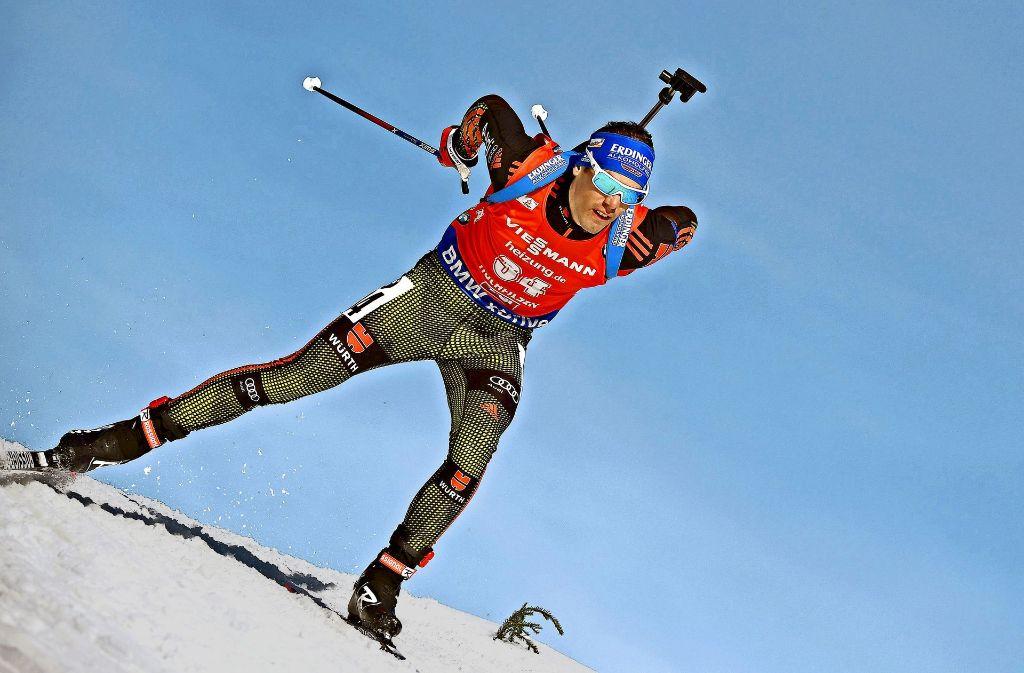 Simon Schempp nimmt den nächsten Anlauf zu einer Einzel-WM-Medaille. Foto: AFP