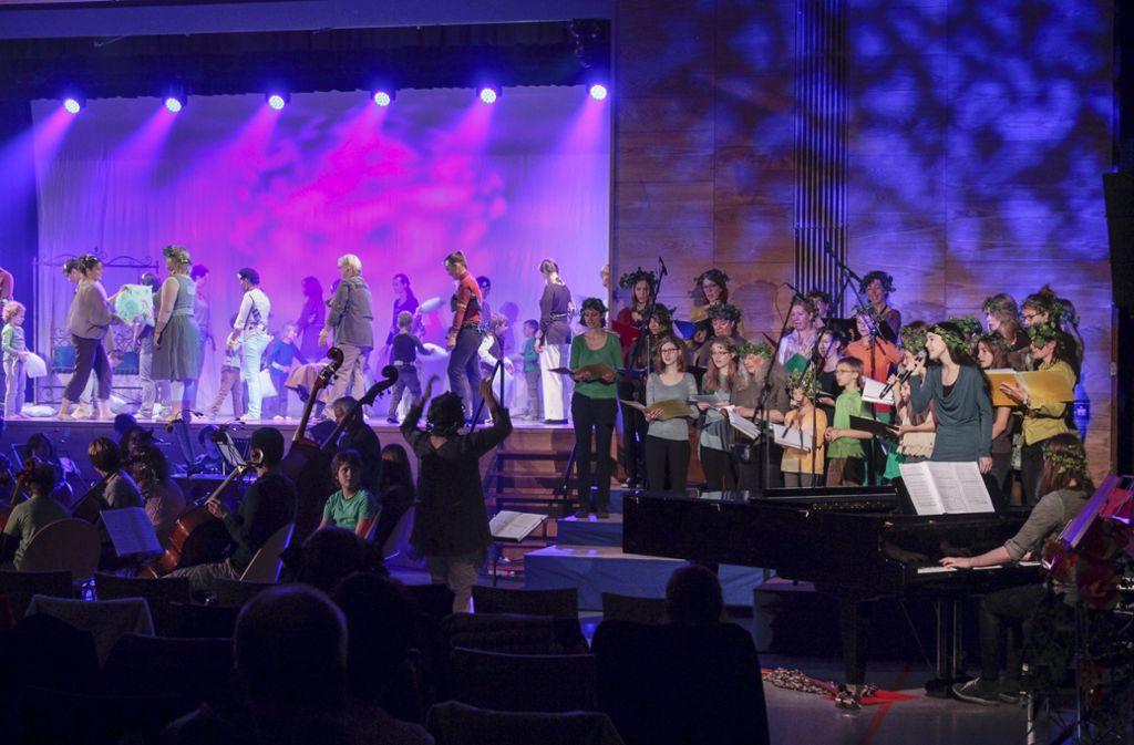 Die Ditzinger Jugendmusikschule ist kreisweit die älteste. 2015 feierte sie ihr 60-jähriges Bestehen. Foto: factum/Granville