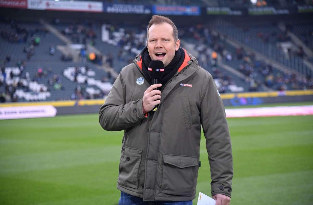 Wolff Fuss kommentiert kommende Runde auch Spiele bei Sat.1. Foto: imago images/Team 2