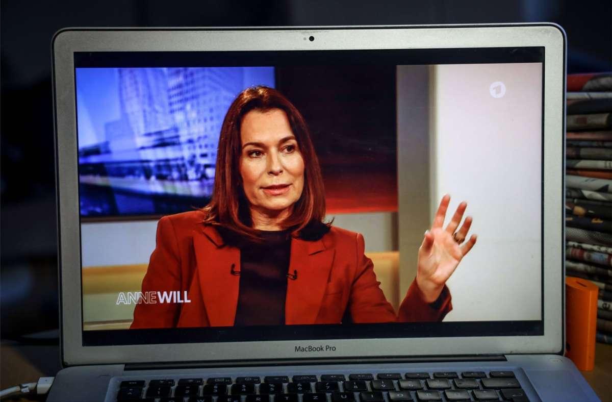 Sie kehrt erst vier Wochen vor der Bundestagswahl wieder auf die Monitore zurück: die ARD-Moderatorin   Anne Will Foto: imago images/Rüdiger Wölk/Rüdiger Wölk