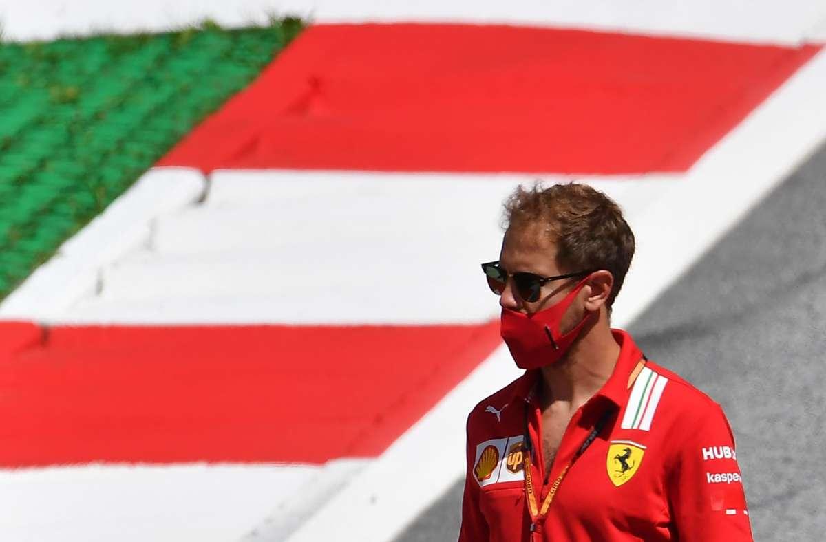 Es ist weiterhin offen, wohin es Sebastian Vettel nach dieser Saison verschlägt. Foto: AFP/JOE KLAMAR