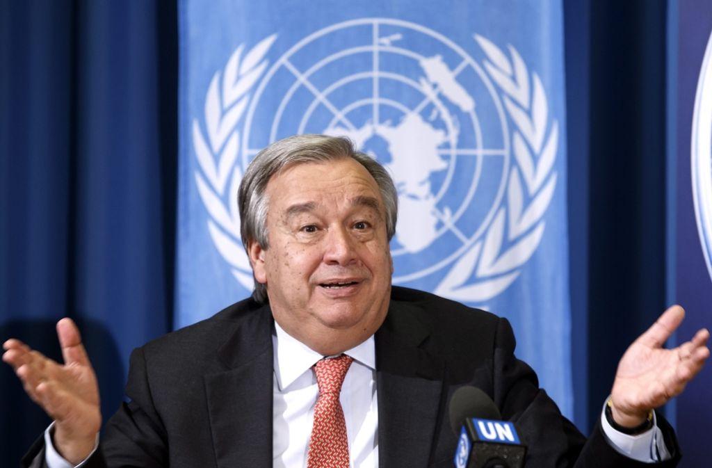 António Guterres wird wie erwartet neuer UN-Generalsekretär. Foto: dpa