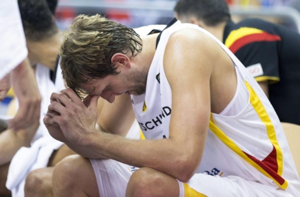 Hat Dirk Nowitzki sein letzten Spiel für die Nationalmannschaft gemacht? Foto: AP