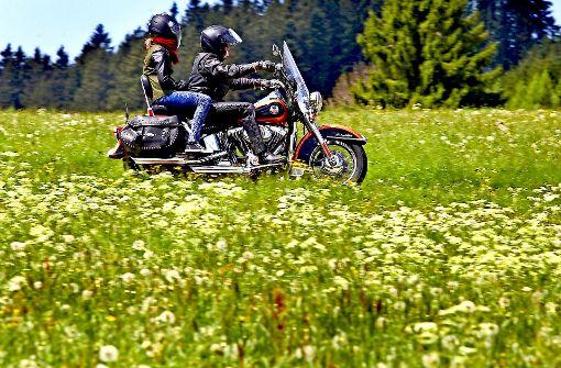 Wenn Motorradfahrer die Kontrolle verlieren