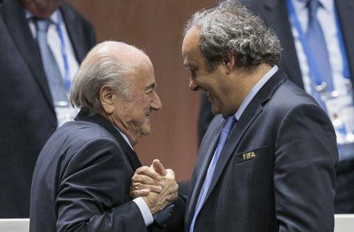 Michel Platini legt Einspruch ein