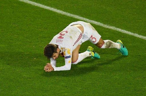 So erklärt Spaniens Piqué den Mittelfinger bei der Hymne