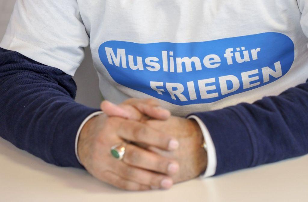 Anhänger der Ahmadiyya Muslim Jamaat wollen sich für Verständigung einsetzen. Foto: factum/Weise/Archiv