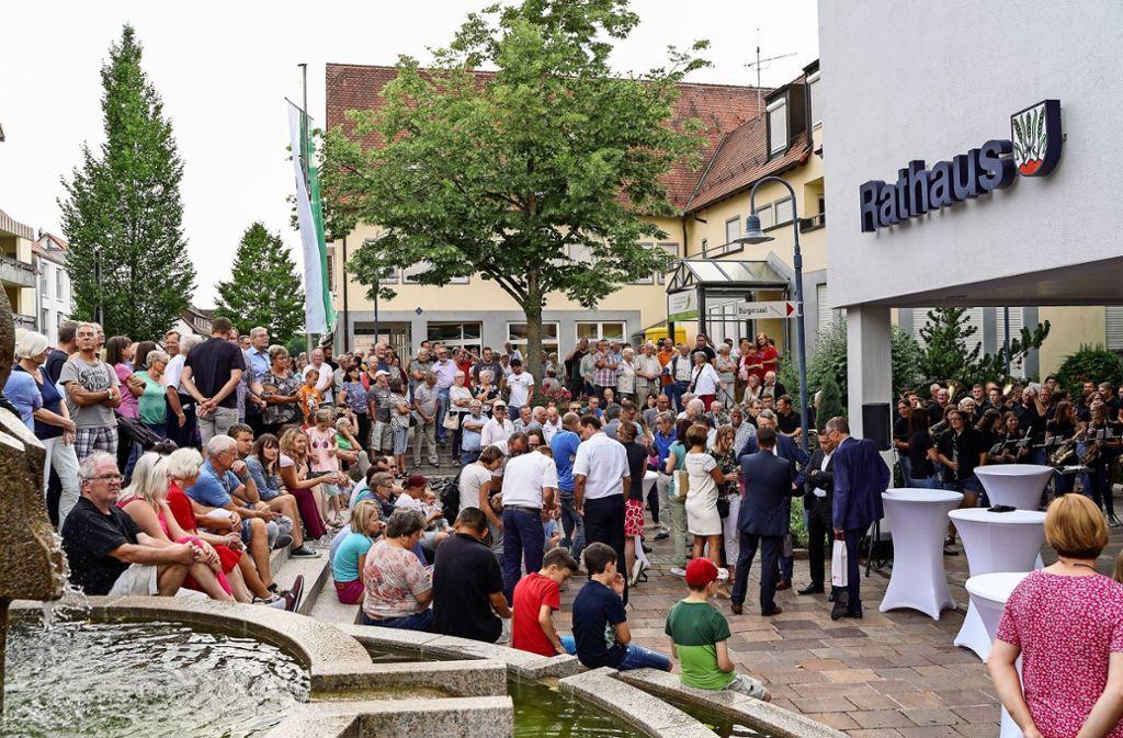 Die Bürgermeisterwahl ist in Bondorf ein Event. Foto: factum/