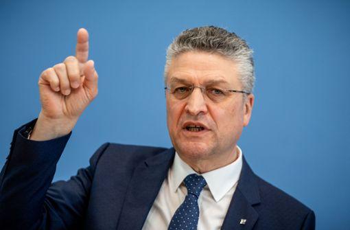RKI-Chef Lothar Wieler: Können Corona nicht ausrotten