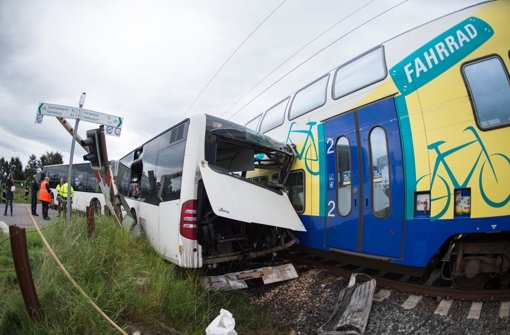 Schüler entgehen knapp einem schweren Unfall