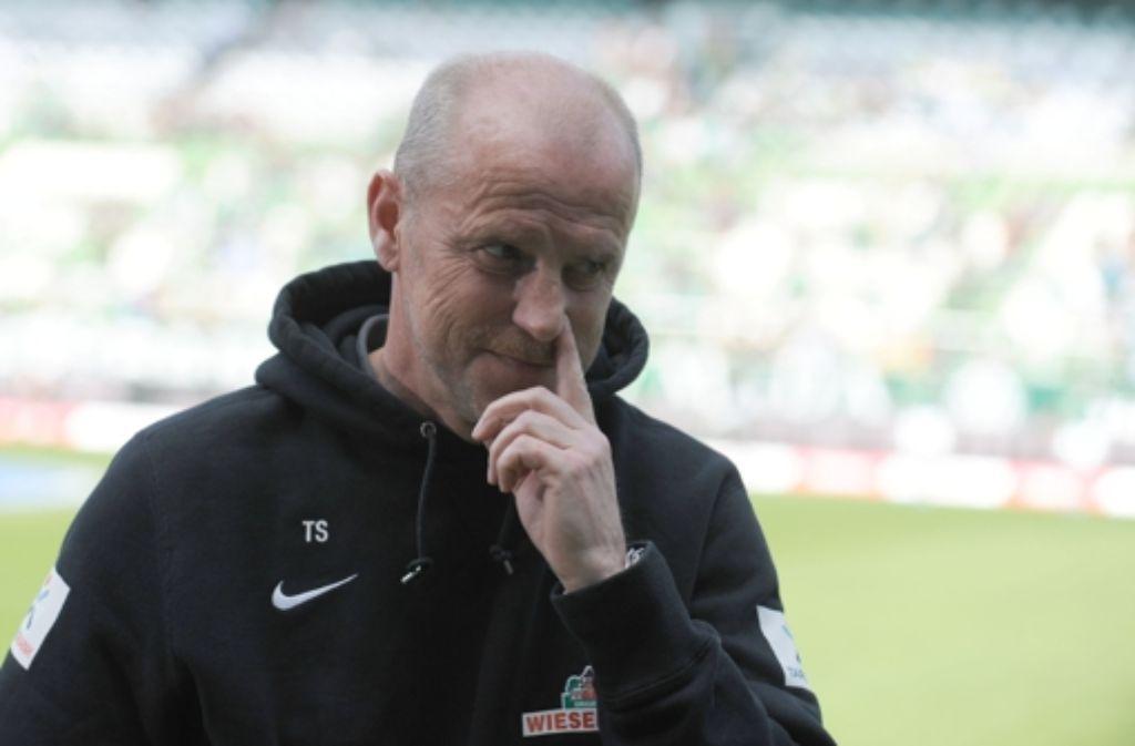 Thomas Schaaf und Werder Bremen gehen nach 14 Jahren getrennte Wege. Foto: dpa
