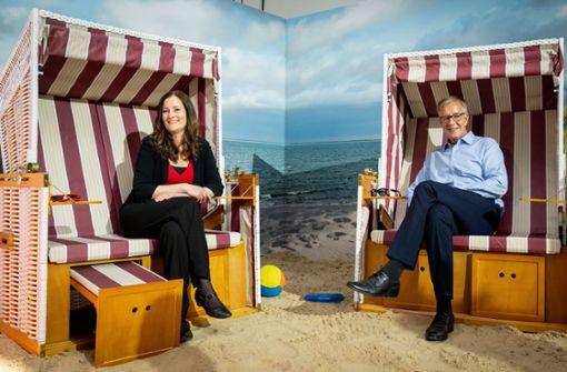 Janine Wissler und Dietmar Bartsch – ein ungleiches Paar