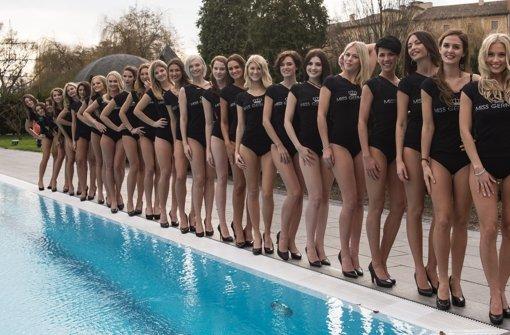 """24 Frauen haben nur ein Ziel: Sie wollen die neue """"Miss Germany"""" werden. Foto: dpa"""