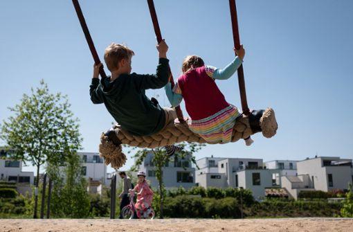 Kinder mit hoher Virenlast, aber weniger krank