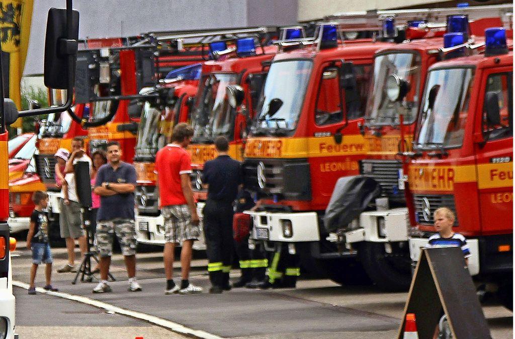 Die Feuerwehr präsentiert ihre Leistungsstärke. Doch intern gibt es Diskussionen. Foto: FACTUM-WEISE