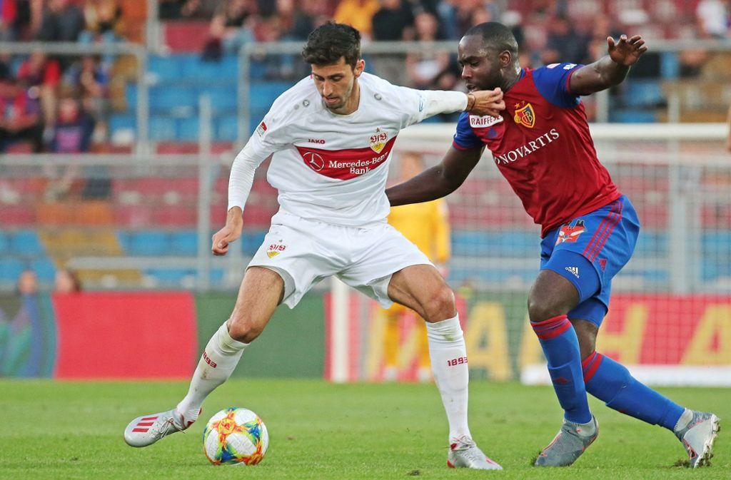 Beim VfB Stuttgart gibt es jede Menge neue Gesichter wie Atakan Karazor (links). Foto: Baumann