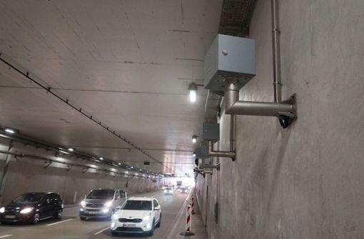 Neue Blitzer im Schwanenplatztunnel