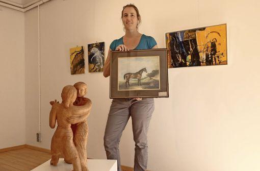 Benefizauktion mit  Kunstspenden