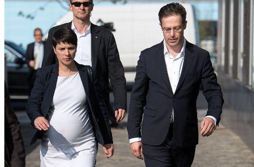Frauke Petry zum fünften Mal Mutter