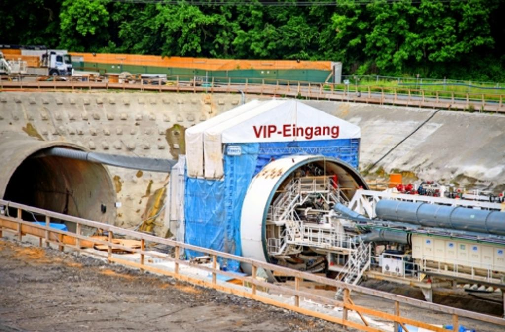 Die Tunnelbohrmaschine soll es gut haben. Foto: Martin Stollberg