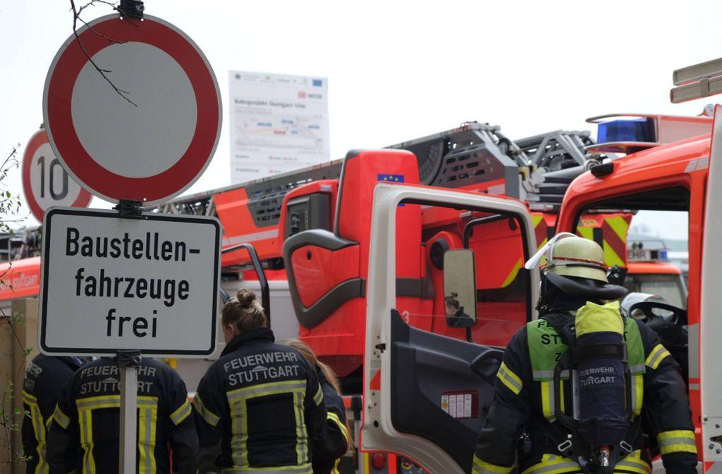 ... beim Wagenburgtunnel drang. Foto: 7aktuell.de/Frank Herlinger