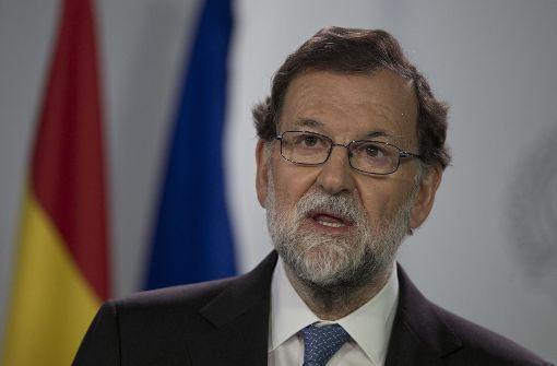 Rajoy greift gegen Separatisten durch