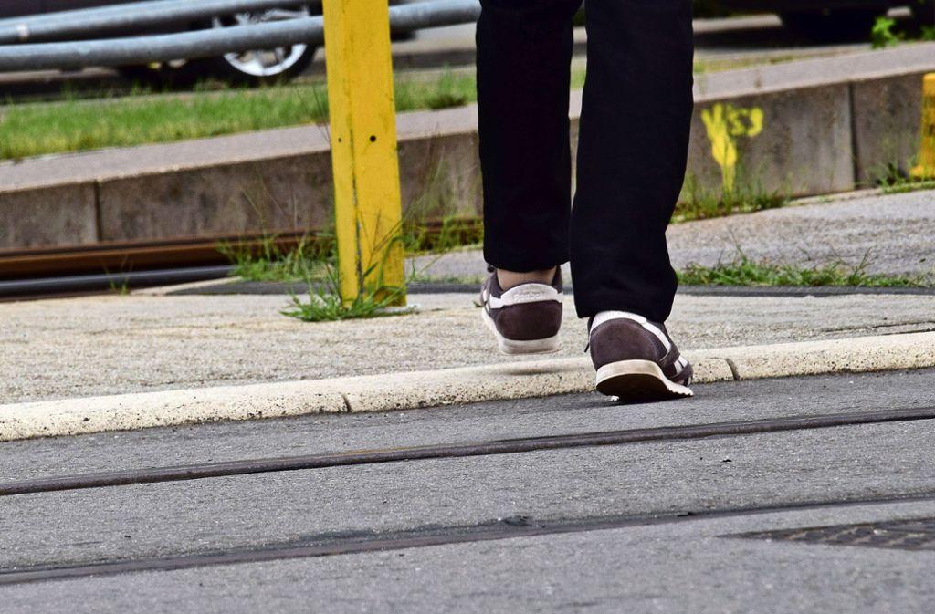 Schon viele Menschen sind über das sogenannte Rundboard am Möhringer Bahnhof gestolpert. Foto: Archiv Alexandra Kratz