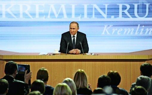 Putins Blick auf die Krisenherde