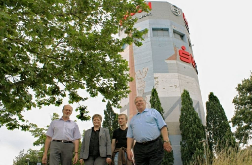 Thomas Schmid, Susanne Domschitz, Rajko Zschiegner, Rainer Haug (v. l.) Foto: Bernklau