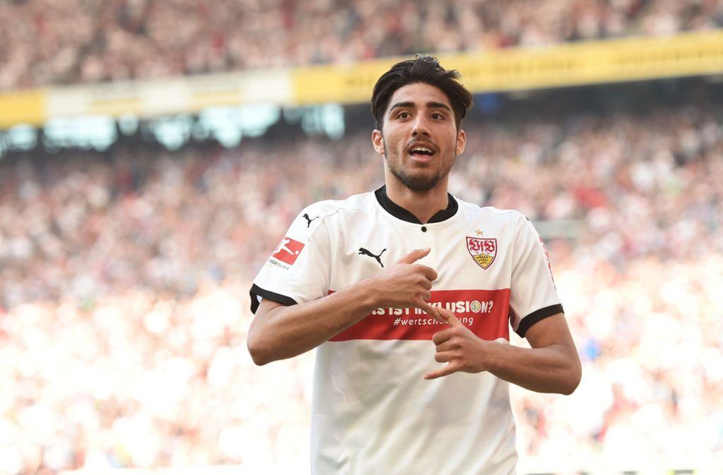 Der ehemalige VfB-Spieler Berkay Özcan rappt jetzt auch.Foto:dpa / Andreas Geber Foto: