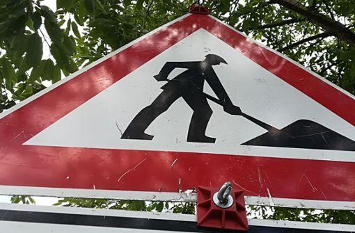 Bauarbeiten bringen Verkehr ins Stocken