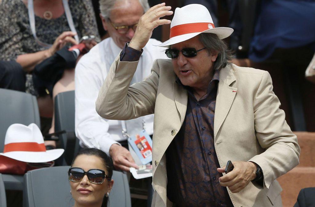 Ilie Nastase kandidiert für das Europäische Parlament. Foto: AFP