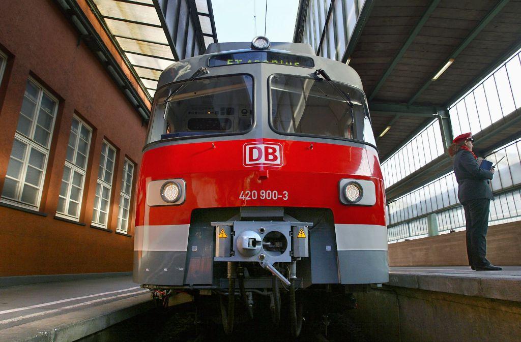 Die ET 420 werden in der Region Stuttgart nicht mehr fahren. Foto: Kraufmann