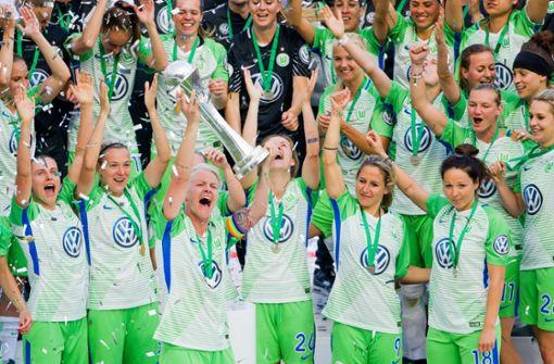 Wolfsburgs Frauen feiern fünften DFB-Pokalsieg