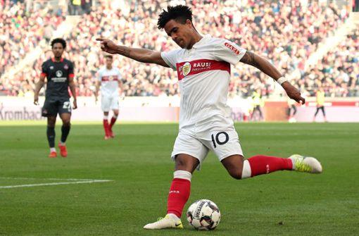 Daniel Didavi will Feuer ins VfB-Spiel bringen