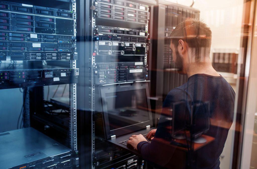 Betriebe mit bis zu 100 Mitarbeitern können die Digitalisierungsprämie beantragen. Foto: Axa AG